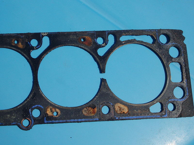 Blown gasket